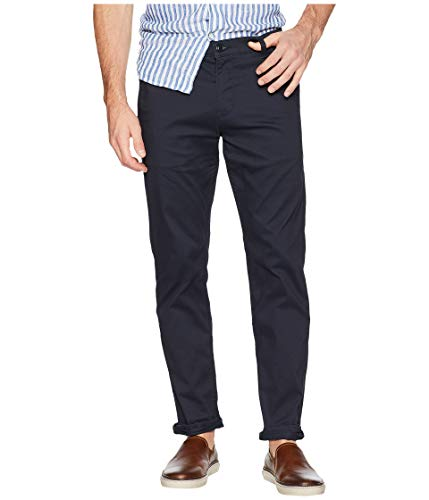 Tech Pants - Dockers Men's Slim Fit Original Khaki All Seasons Tech Pants Navy, 29 30