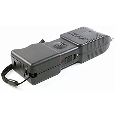 POLICE 88,000,000 Durable Stun Gun With LED Flashlight And Police Siren Rechargeable