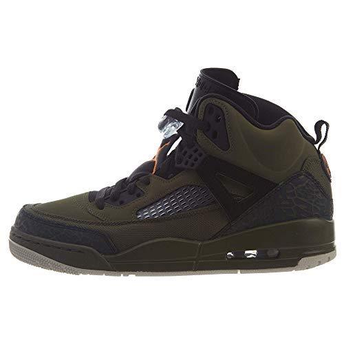 Jordan Spizike Mens Olive Canvas/Cone-Black Size 8.5 (Womens Shoes Nike Canvas)