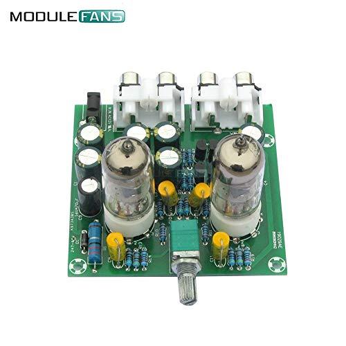 Phoncoo DIY Kit AC 12V 6J1 Tube Fever Pre Amplifier Preamp AMP Pre-Amplifier Board Headphone Buffer Module Stereo Potentiometer Valve (Best Diy Tube Amp Kit)