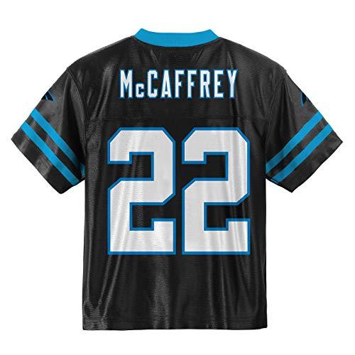 - Outerstuff Christian McCaffrey Carolina Panthers #22 Black Youth Home Player Jersey (Small 8)
