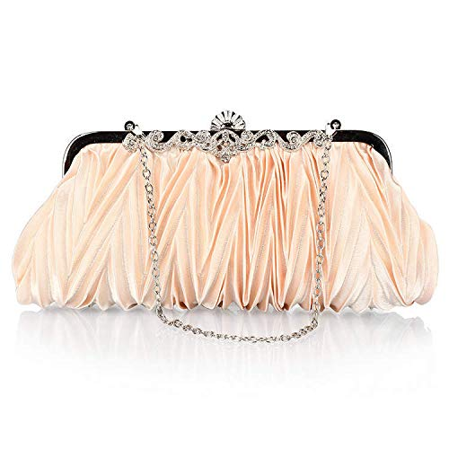 Clutch color Chain Wedding champagne Bag With Bag Bag Fashion Handbags Shoulder Evening Women'S Wallets Evening Bags For Evening KLLXEB 4U0q5w5