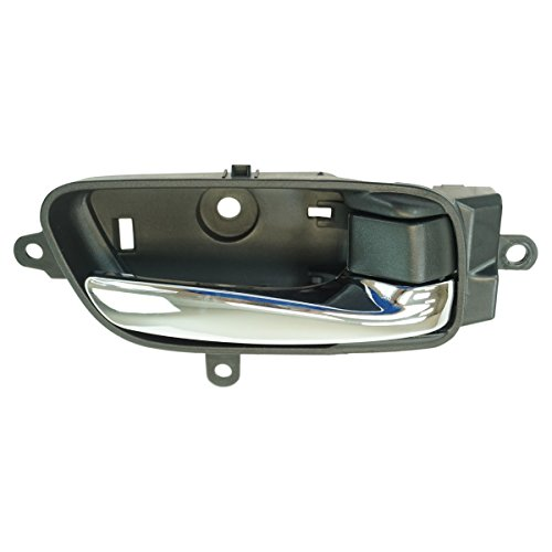 Inside Interior Door Handle Black & Chrome Passenger Side for Altima Pathfinder ()