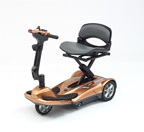 Drive Medical Megatronn Automatic Folding Lightweight Mobility Scooter - Copper