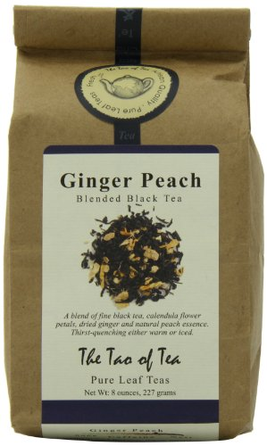 (The Tao of Tea Ginger Peach, 8-Ounce Bags (Pack of 2))