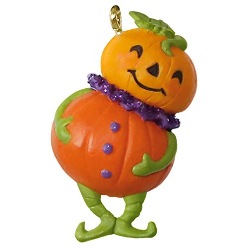 Pint-Sized Pumpkin Mini Halloween (Hallmark 2017 Halloween Ornaments)