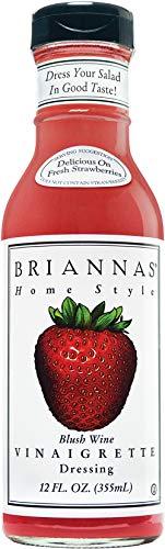 Brianna's, Blush Wine Vinaigrette, 12 oz - Vinaigrette Dressing Wine