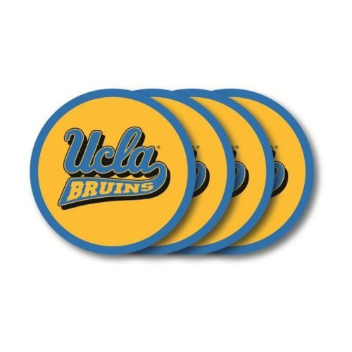 NCAA Ucla Bruins Vinyl Coaster Set (Pack of 4)