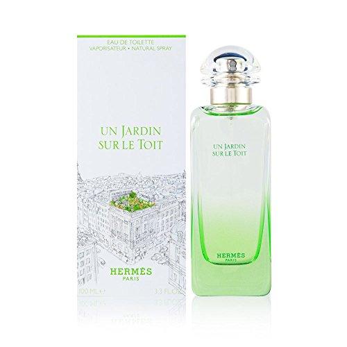 - Un Jardin Sur Le Toit by Hermes 3.3 oz Eau de Toilette Spray