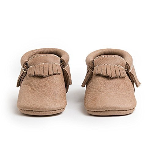 Freshly Picked Baby Soft Sole Moccasins (Toddler), Weathered Brown, 3 Infant M ()
