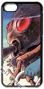 Nausica? of the Valley of the Wind Cartoon movie HD image case for iphone 5c black + Gift