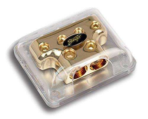 UPC 609098789066, NEW STINGER SPD814 1/0 Gauge to 4 Gauge PRO Gold Car Audio Distribution T-Block