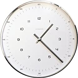 Max Bill - Max Bill Wall Clock with Numbers : R051711