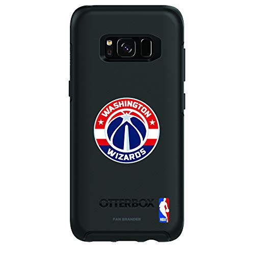 Fan Brander NBA Phone case, Compatible with Samsung Galaxy S8 and with OtterBox Symmetry Series(Washington Wizards)