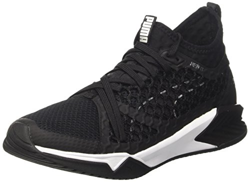 Puma Women's Ignite Xt Netfit Fitness Shoes, Black/White Black (Black-white 03)