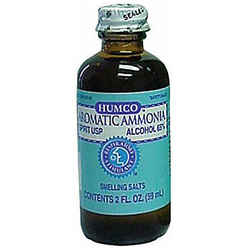 Humco 68131 Ammonia Inhalants, Liquid Spirits, 2 oz. Bottle
