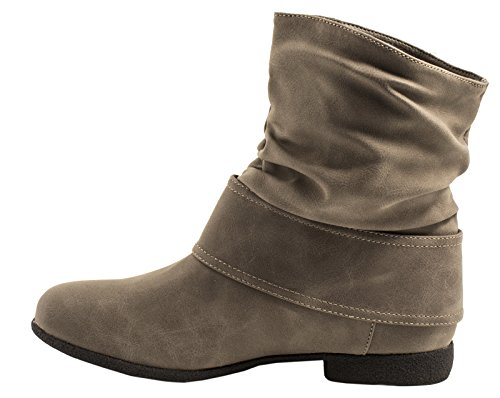 Khaki botas Mujer 2 clásicas Elara azZqwc0w