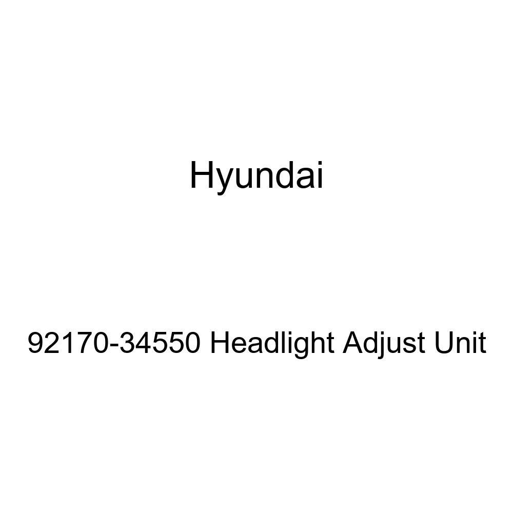 Genuine Hyundai 92170-34550 Headlight Adjust Unit
