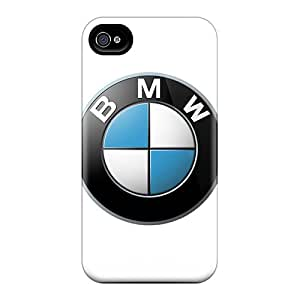 Durable Cell-phone Hard Cover For Iphone 4/4s With Custom Lifelike Bmw Pattern RudyPugh