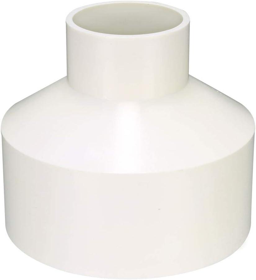 Sourcingmap Acoplamiento reductor de PVC para buje de tuber/ía