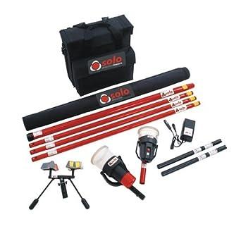 SDI solo 823 Kit Kit De Prueba De Detector De Humo W/bolsa, comprobador de calor, Cargador de batería: Amazon.es: Amazon.es