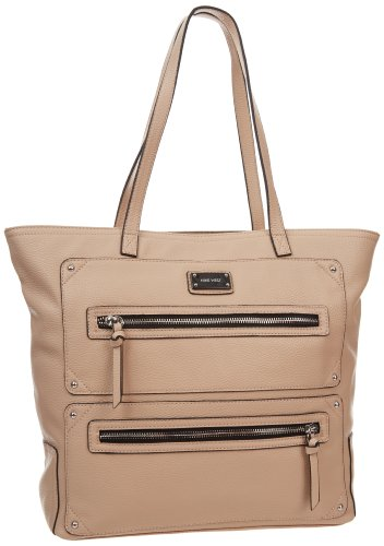 Nine West Double Vision Tote,Biscotti,One Size, Bags Central