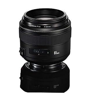 YONGNUO YN85mm F1.8 AF/MF Standard Medium Prime Fixed Telephoto Lens for Canon EF Mount Rebel DSLR Cameras (B01N7DIMEZ) | Amazon price tracker / tracking, Amazon price history charts, Amazon price watches, Amazon price drop alerts