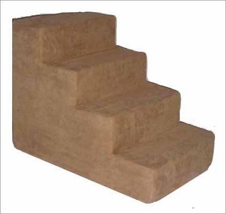 Best Pet Supplies ST2053S Pet Stairs in Light Brown with 3 Steps, My Pet Supplies