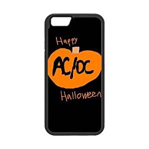 iPhone 6 6S 4.7 Inch funda Negro [PC dura del caso + HD Pattern] AC DC® Series [Numeración: JJJJDHKOD4413]