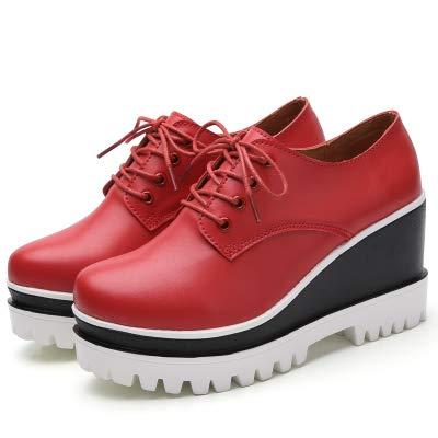 Altos Moda Zapatos Mujer Tacones Tacón Red Plataforma Para Cuñas Alto Pequeños Primavera Yukun De 6xw1Zq0v