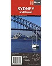 Sydney & Region City and Suburbs Road Map 1 : 1000 000 / 1 : 241 000