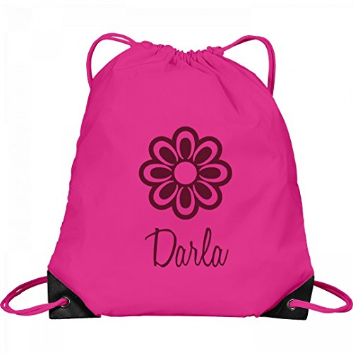 Flower Child Darla: Port & Company Drawstring Bag by FUNNYSHIRTS.ORG