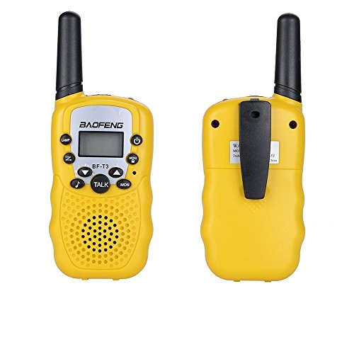 Image of the Toys for 3-12 Year Old Boys, Kids Walkie Talkies for Kids Toys for 3-12 Year Old Girls 3-12 Year Old Girl Best Gifts Yellow