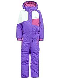 Trespass girls Trespass Boys & Girls Wiper One Piece Padded Technical Ski Suit