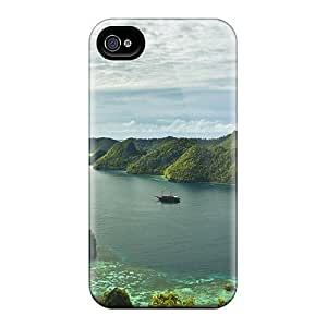 Awesome Case Cover/iphone 4/4s Defender Case Cover(water In The Lake)