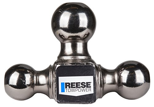 "042899703983 - Reese Towpower 7039800 2"" Black Nickel Triple Ball Mount carousel main 1"