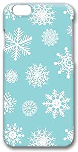 Apple iPhone 6 Case Bling Crystal Christmas Winter Snowflake Design Snap-On Hard Cover