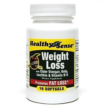 Amazon Com Healthy Sense Dietary Supplement With Cider Vinegar 16