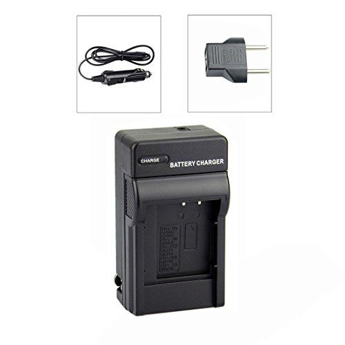 DSTE Replacement for DC16 Travel and Car Charger Adapter Compatible Olympus LI-50B LI-60B LI-90B Compatible Nikon EN-EL11 Compatible Sony NP-BK1 NP-BY1 Compatible Casio NP-150 as LI-50C UC-90