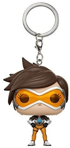 Funko Pop Keychain Overwatch Tracer Action Figure