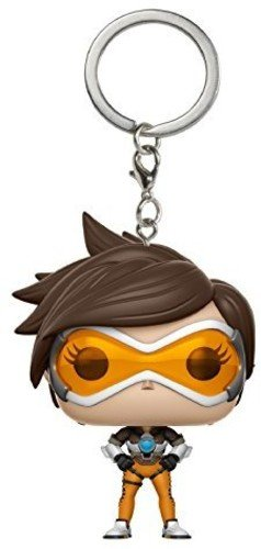 Chaveiro Tracer - Overwatch - Pocket Pop! Funko