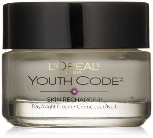 L'Oreal Paris Youth Code Day/Night Cream, 1.6 Fluid Ounce