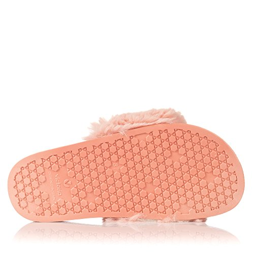 42 Mujer Pala Rosa Victoria Sandalia para Zapatillas Pelo Rosa 6pXwf8q7w