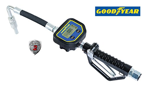 GOODYEAR Aircraft Aluminum 10 Gallons Digital Oil/Fuel Control Valve with 5-digits LCD Display by Goodyear