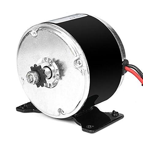 Permanent Magnet Motor >> Rishil World Dc 24v 250w Permanent Magnet Motor Generator Wind Turbine Micro Motor
