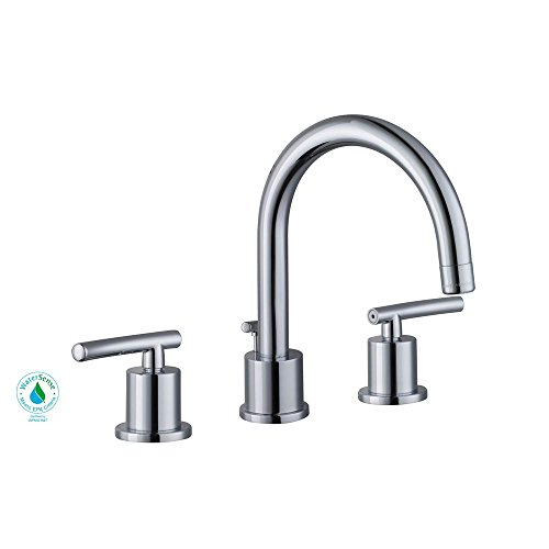 Glacier Bay Dorset 8 in. Widespread 2-Handle Bathroom Faucet in Chrome