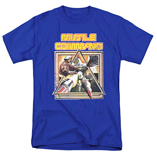 Atari Missle Command Video Game T Shirt & Stickers, S to 5XL
