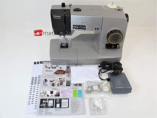 Toyota Power fabriq – Máquina de Coser (Brazo Libre 17 programas ...