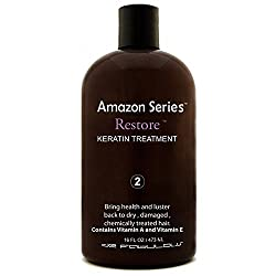 De Fabulous Amazon Series Restore Keratin Treatment 16 Fl Oz 473 Ml