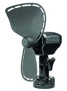 Caframo Ultimate Direct Wire 12V Cabin Fan, Black, Small